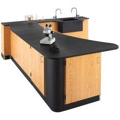 Peninsula Workstation - Sink in Wall at SCHOOLSin