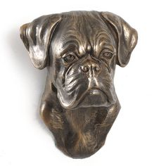 Boxer second dog hanging statue limited by ArtDogshopcenter