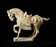 Horse, Chinese, Tang Dynasty, c.618-906 AD (