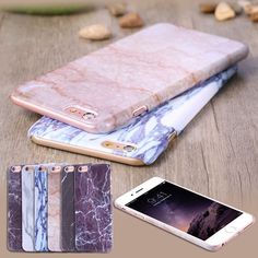 Printed Stone Marble Pattern Thin Slim Hard Back Case Cover for iPhone 6 6S Plus | eBay