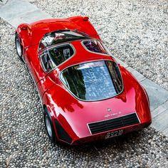 1968 Alfa Romeo 33/2 Stradale, 2018 Concours Villa d'Este, via Sportscardigest.com