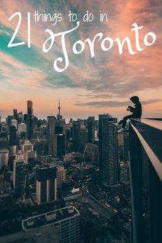 These are the best things to do in Toronto, Canada. One of the best cities in the world you can travel to! Including restaurants, attractions, nightlife ideas, and other inspiration for a vacation in either the summer, fall, winter, or spring! #Toronto #Canada #Travel