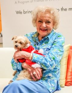 loves Author Lisa Erspamer's Dog Lily in her Santa attire -this was taken at the L. Love & Leashes event to raise money for rescue dogs! Celebrity Dogs, Celebrity Pictures, Celebrity Crush, Dog Artist, Star Wars, Betty White, Celebs, Female Celebrities, Female Singers