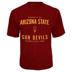 NCAA Arizona State Sun Devils Men's Mascot Synthetic T-Shirt - Xxl,