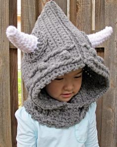 Crocheting: Viking Style - hood with cowl