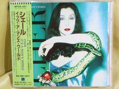CD/Japan- CHER It's A Man's World w/OBI RARE 1995 WPCR-557 #ElectroSynthSynthPopDowntempo