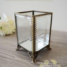 【完售】✿MustardSeedZakka✿歐美復古玻璃首飾盒《印度公主系列三》限量私藏 獨家銷售 收納/戒指/珠寶盒