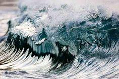Carreau ocean painting