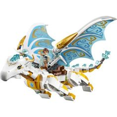 LEGO Elves Queen Dragon's Rescue 41179 - Walmart.com