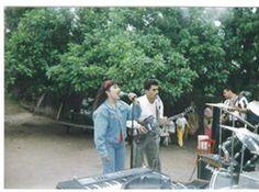 Presentacion del Grupo Libertad en una fiesta familiar en 1994.