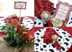 festa-aniversario-infantil-fazendinha-02 Farm Party, Tropical, Gift Wrapping, Baby Shower, Christmas Tree, Holiday Decor, Cowgirls, Home Decor, Alice