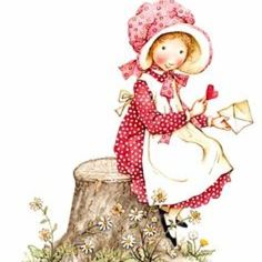holly hobbie | She used such pretty colour hues...
