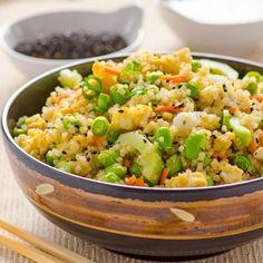 Japanese Quinoa Salad HealthyAperture.com