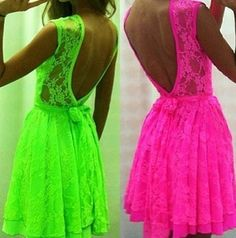 I would wear the pink deff. And maybe the green to the pool over my suit.