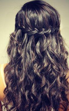 braided+hairstyles,+plaits,+braided+hair+-+waterfall+braid