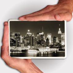 """Kindle Fire Case - Manhattan NY at Night - White Protective Hard Case by VictoryStore. $19.50. Manhattan NY at Night design made for Kindle Fire.  Plastic protective Kindle Fire cover.  Image size on back side of cover is 4.5"""" x 2.25"""". Kindle Fire Hard Case - White Protective Kindle Fire Case."""