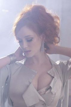 Christina Hendricks Rescued He is listed (or ranked) 13 on the list 38 Sexiest Christina Hendricks Pictures