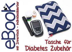 eBook Nähanleitung Tasche für Diabetes Zubehör pdf von Kubischneck - eBooks und Nähanleitungen auf DaWanda.com