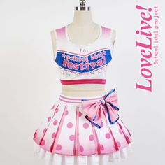 Yazawa Nico Lovelive school idol project μ's Cheerleaders Cosplay Full set