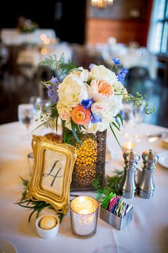 Centerpiece by Studio AG. Photo by Ingrid Bonne Photography http://www.ingridbonnephotography.com/