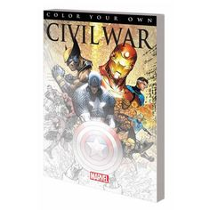 Marvel Civil War Coloring Book - Marvel - Marvel - Books at Entertainment Earth