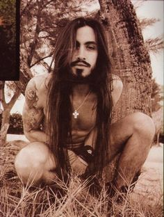 My life partner will look a lot like Nuno Bettencourt. I love long haired men with olive skin.