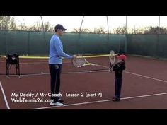 Kids Tennis Lesson (live) - part 7 - how to teach tennis to little kids (age 4 - 10) - see full lesson at WebTennis24.com