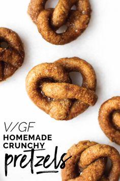 Homemade Hard Pretzel Sticks {vegan & gluten-free}