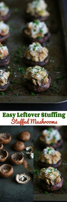 Easy Leftover Stuffi