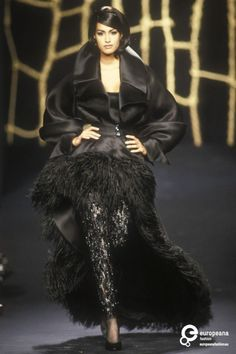 Yasmeen Ghauri - Lanvin, Autumn-Winter 1991, Couture
