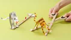Simple machines-levers Fun paper craft to teach children how scissors are two levers Preschool Crafts, Diy Crafts For Kids, Projects For Kids, Fun Crafts, Arts And Crafts, Puppet Crafts, Toy Craft, Cardboard Toys, Paper Toys