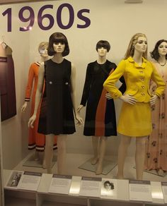 Mary Quant designs, 1960s Manchester City Galleries