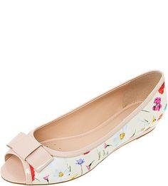 3f7f3ba0649 173 Best ♡ Peep Toe Flat Shoes ♡ images   Peep toe flats, Bass ...