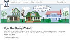 leoraw dot com site home website redesign