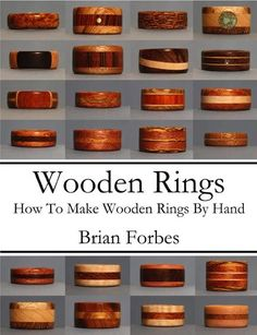 My book on making wooden rings is based on using the minimal tool set, so that you can make a ring for yourself or for a gift without having to spend a ton on tools. You can make any of the rings in this book, and nothing beats a handmade gift like a wooden ring.