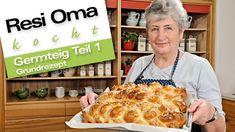 Resi Oma kocht - Germteig Grundrezept - YouTube Food Gifts, Waffles, French Toast, Brunch, Easter, Sweets, Breakfast, Desserts, Youtube