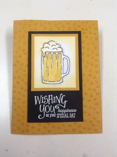 New Stampin Up sets: Mixed Drinks and Better Together stamp sets