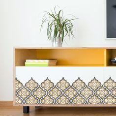 Temara Tile Stencil - 3-Layer Moroccan Furniture Floor Wall Tile Stencil (Small)
