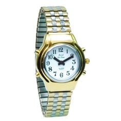 Ladies Royal Tel Time Talking Watch with expansion band ** You can find more details by visiting the image link.