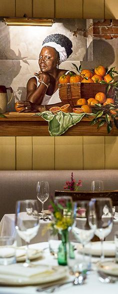 A chef is art on pinterest chefs chef kitchen decor for Table 52 restaurant gaborone