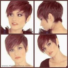 Pixie Haircut Front and Back - Bing Images Girl Short Hair, Short Hair Cuts, Short Hair Styles, Pixie Cuts, Short Wavy, Short Pixie Haircuts, Pixie Hairstyles, Shaved Hairstyles, Sassy Haircuts