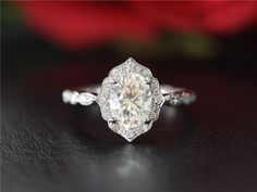 Hey, I found this really awesome Etsy listing at https://www.etsy.com/ca/listing/489411175/solid-14k-white-gold-moissanite-ring-set