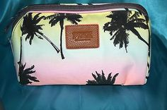 VS PINK palm tree pencil pouch!