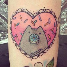 pusheen tattoo - Google Search