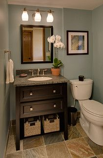 Wallner Builders - traditional - powder room - milwaukee - by Wallner Builders