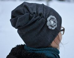 ruttupipo. Sewing Hacks, Sewing Projects, Slouch Beanie, Diy Hat, Sewing Accessories, Handicraft, Knit Crochet, Sewing Patterns, Winter Hats