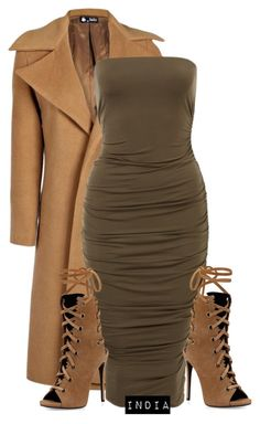 Untitled #1612 by stylebyindia on Polyvore featuring polyvore, fashion, style, Boohoo, Giuseppe Zanotti and clothing