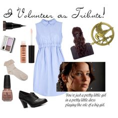 Katniss Everdeen (The Hunger Games) Inspired Outfit