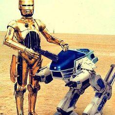 Droids/Robocop mash-up by chrisr1973