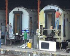 Jelang Arus Mudik PT KAI Perbaiki Kereta Penumpang